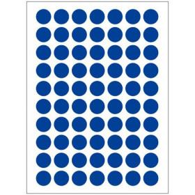 Autocollants bleus (132x)