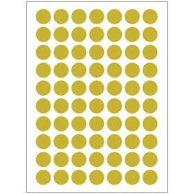 Autocollants dorés (132x)