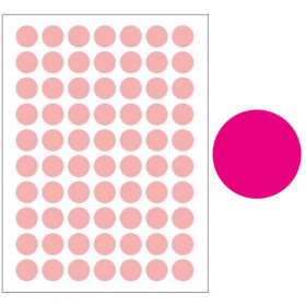 Autocollants rose (132x)
