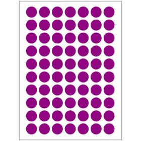 Autocollants violets (132x)