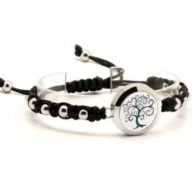 Bracelet Arbre Enchanté Noir