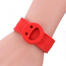 Bracelet Smiley Rouge