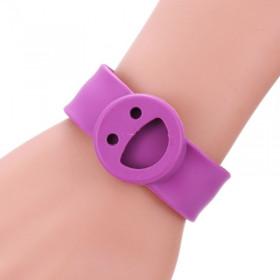 Bracelet Smiley Violet