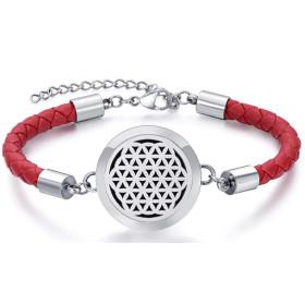 Bracelet Fleur de Vie Rouge