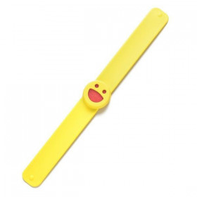 Bracelet Smiley Jaune