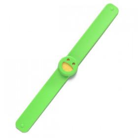 Bracelet Smiley Vert