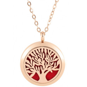 Collier Arbre Rose Gold