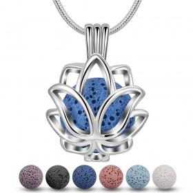 Collier Lava Lotus