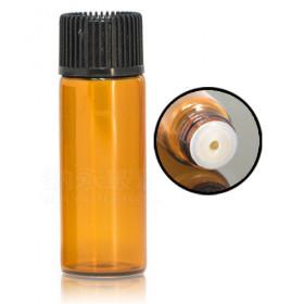 Flacon 5ml avec bouchon compte-gouttes 2 (verre)