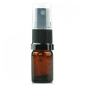 Flacon 5ml avec vaporisateur (verre)