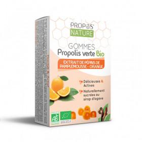 Gommes Propolis verte - EPP - Orange douce BIO