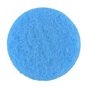 Rondelles bleues 7mm (6 pièces)