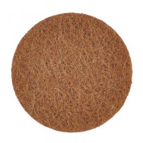 Rondelles brunes 22mm (5 pièces)
