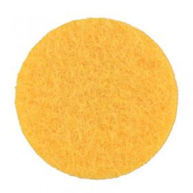 Rondelles jaunes 22mm (5 pièces)
