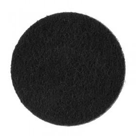 Rondelles noires 18mm (5 pièces)