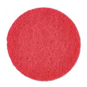 Rondelles rouges 18mm (5 pièces)