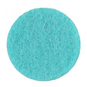 Rondelles turquoise 7mm (6 pièces)