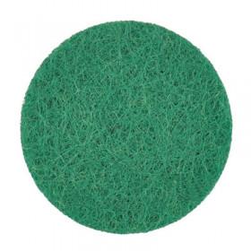 Rondelles vert foncé 22mm (5 pièces)