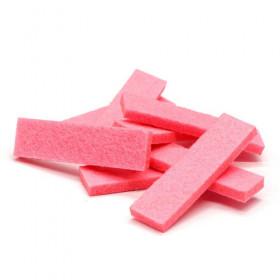 Tissus rectangulaires rose (5 pièces)